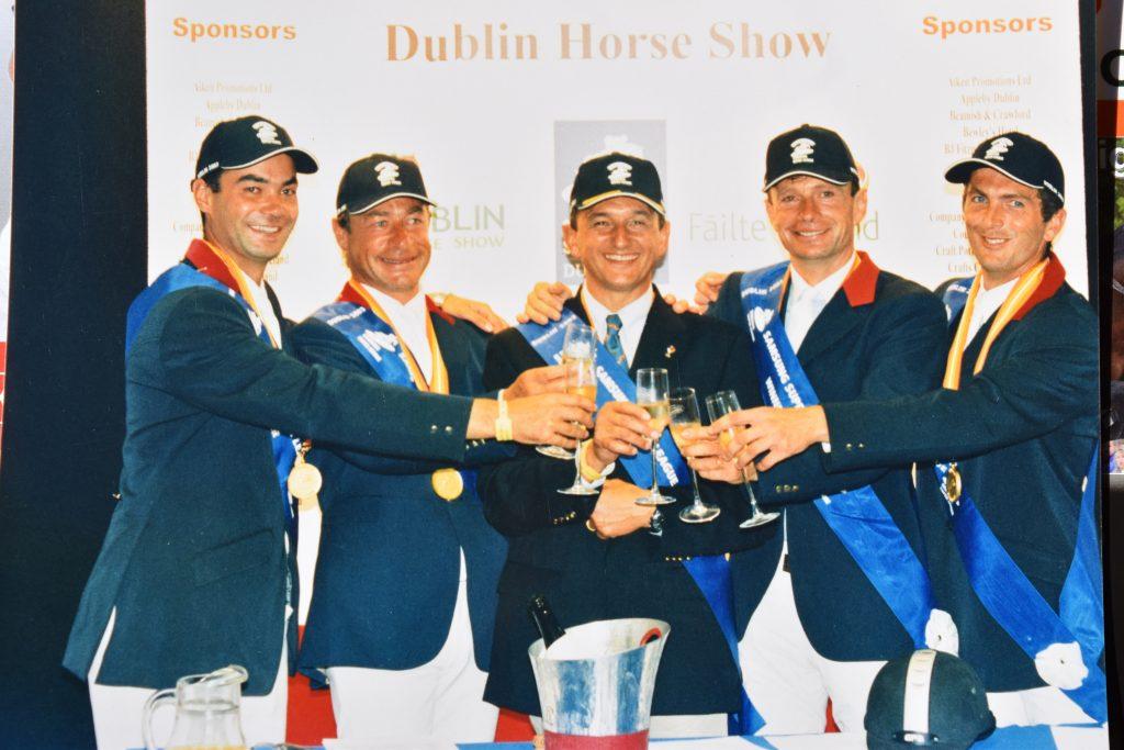 Victoire de la Coupe des Nations de Dublin 2003